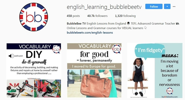 English learning bubblebee tv