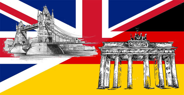 Различия между английским и немецким